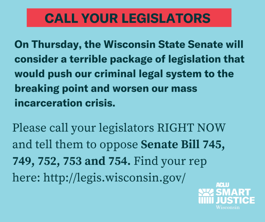 Call Your Legislators