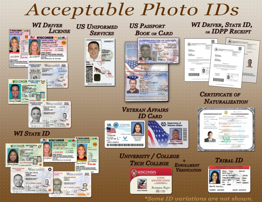 Acceptable Photo IDs