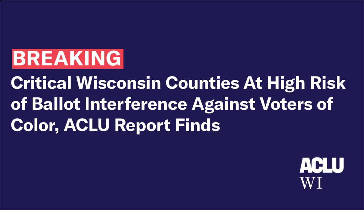 ACLU statement