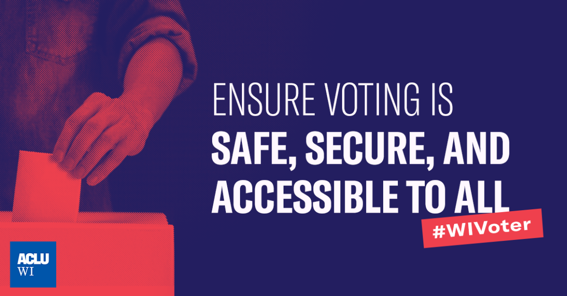 Ensure voting is Safe, Secure, And Accessible To All