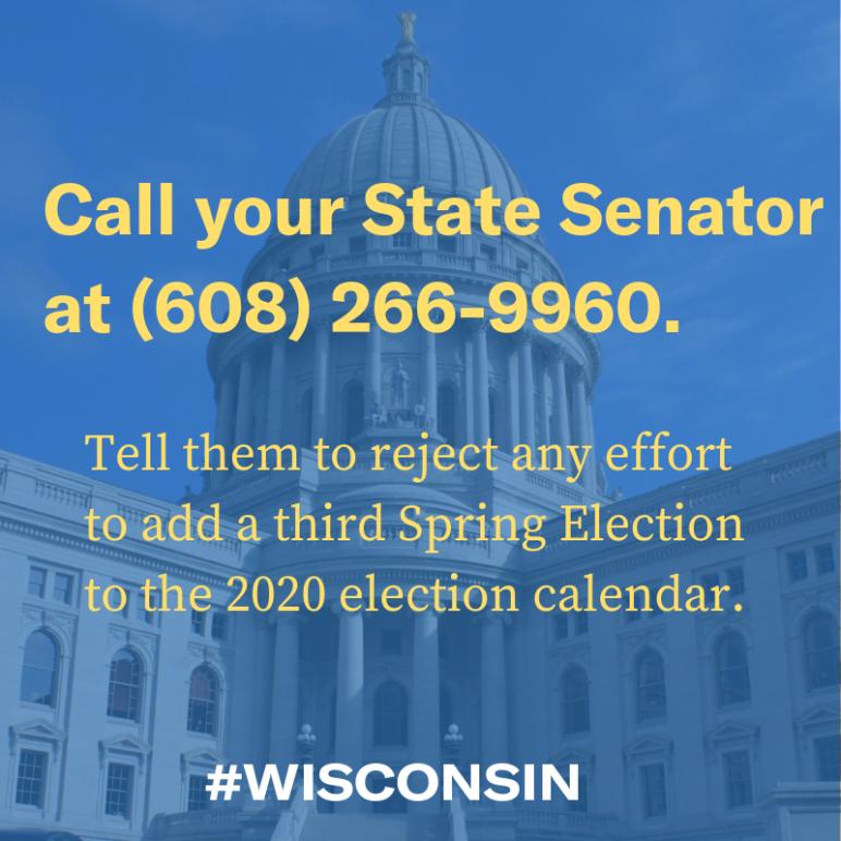 Call your state senator