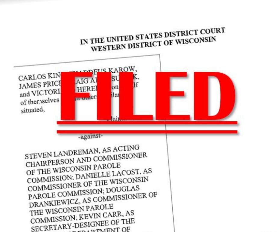 Filed lawsuit