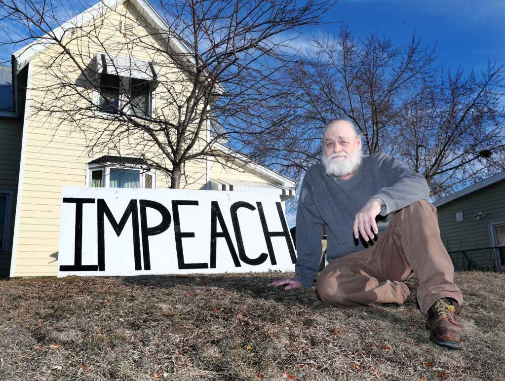 Impeach Sign - Dennis Lawrence
