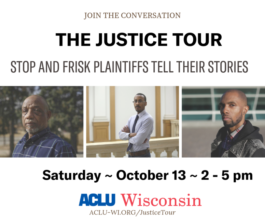 Justice Tour - Plaintiffs tell their stories