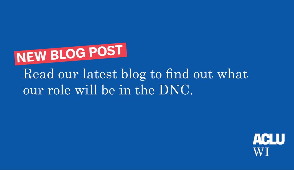 DNC blog post