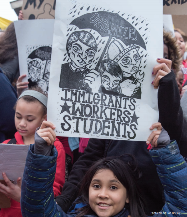 Organize - Immigrants - Workers - Students