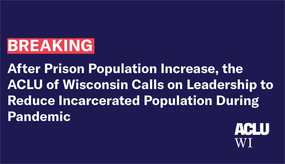 Prison Population Increase
