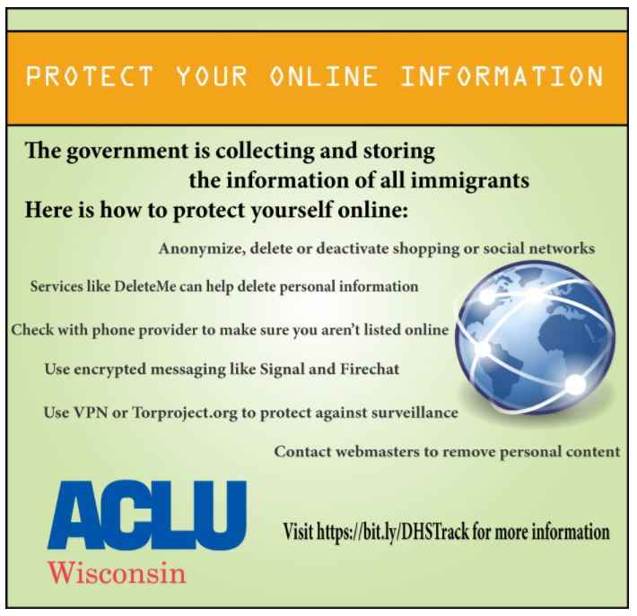 Protect your online Information