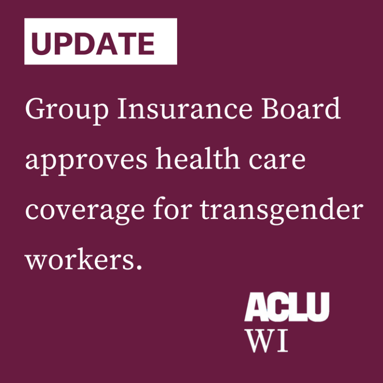 Group Insurance Board approves health care coverage for transgender workers