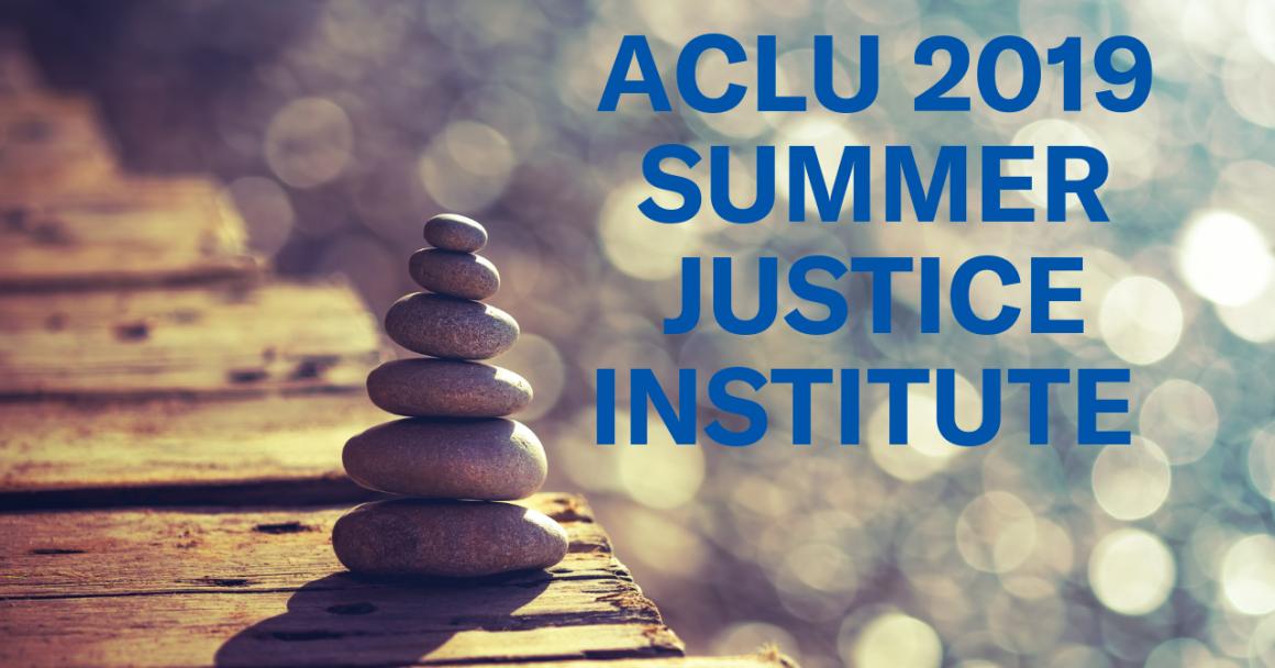 2019 Summer Justice Institute