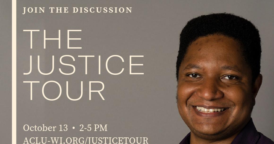 Justice Tour Graphic with Jarrett