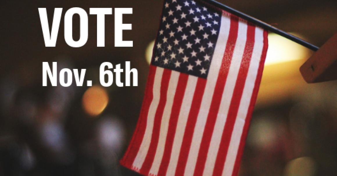 Vote November 6th