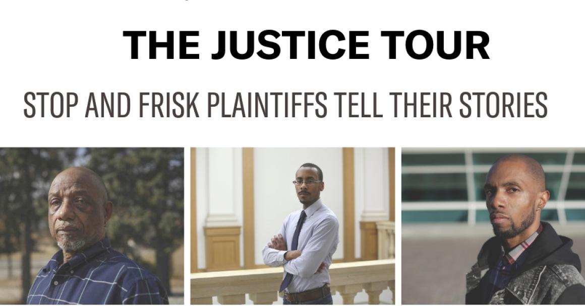 Justice Tour - Plaintiffs tell their stories